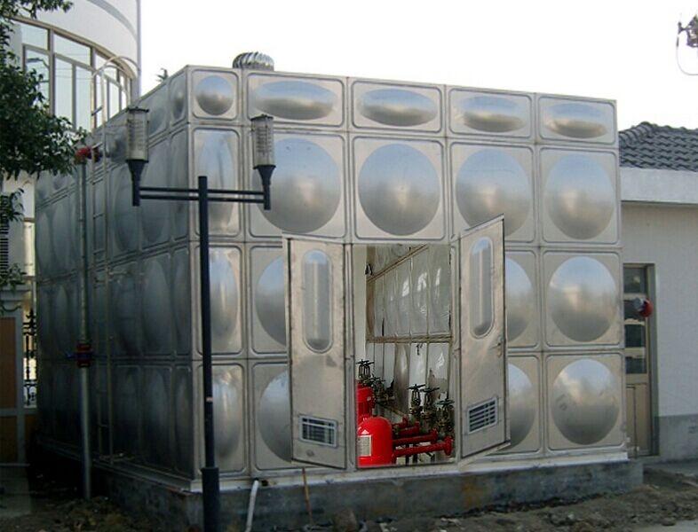 镀锌钢板水箱 丨不锈钢_10方不锈钢水箱多少钱_不锈钢内衬水箱
