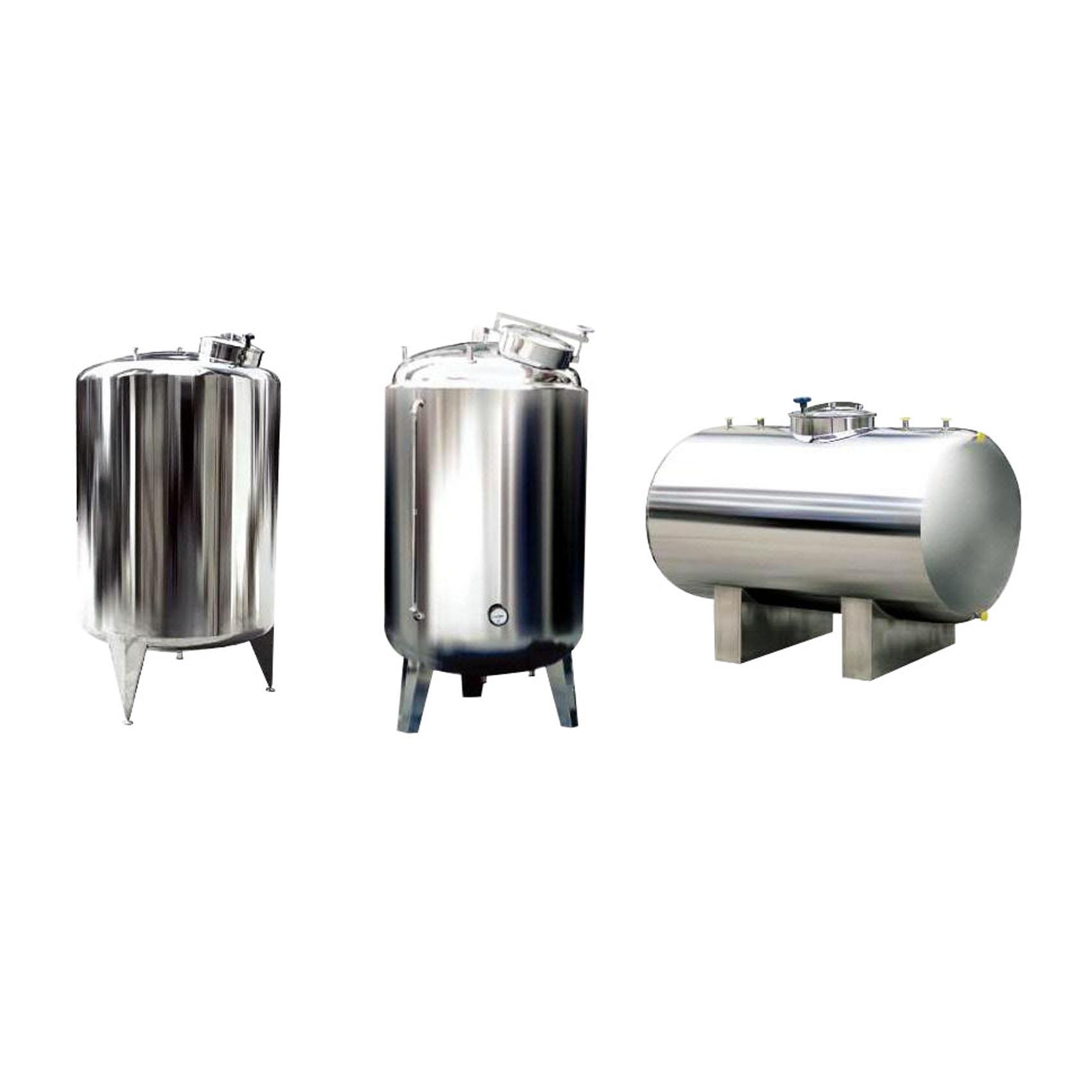 医药液体不锈钢储存罐,钛罐,啤酒储罐,发酵罐