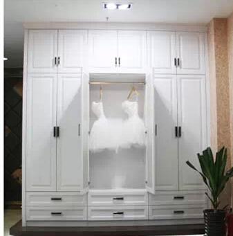 合肥卧室平开门衣柜定制
