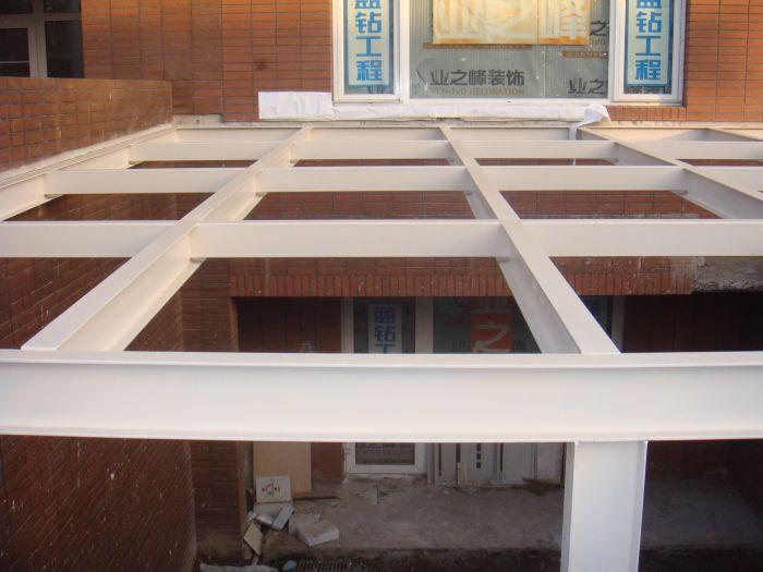 石家庄别墅 商铺 店面 钢结构隔层制作 钢结构阁楼制作新方案