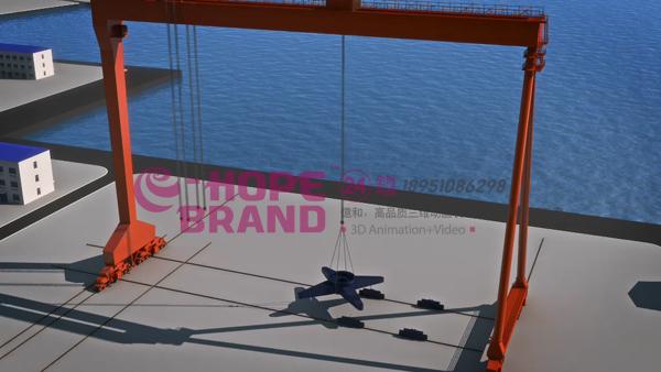 施工工程工法流程演示汇报三维动画