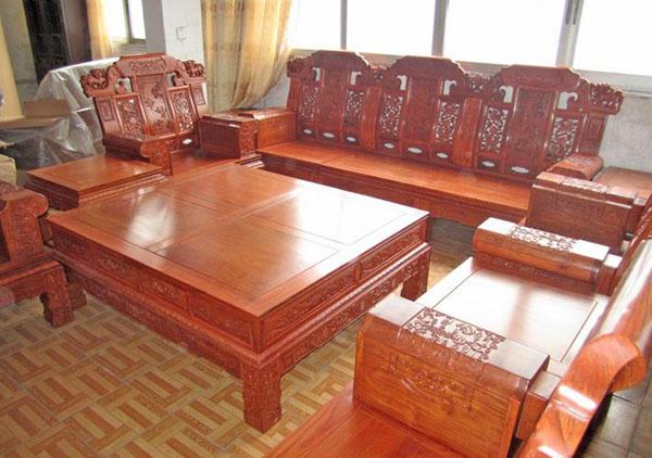 红木家具厂 东阳红木家具 大奔沙发