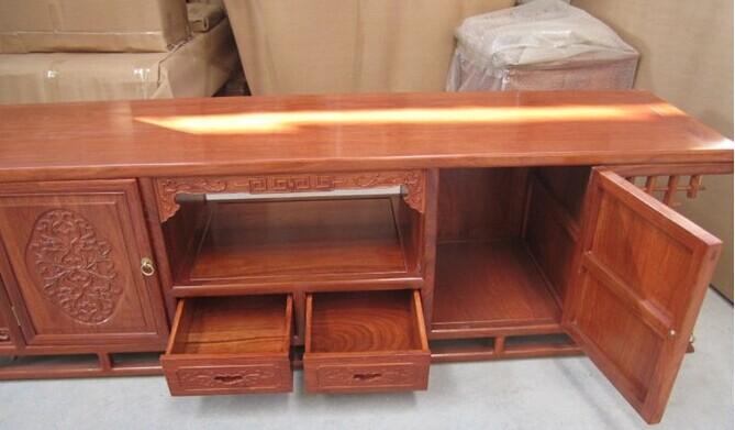 红木家具厂 东阳红木家具 实木电视柜