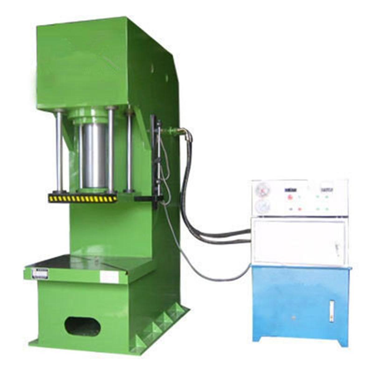 校直机单臂液压机单柱油压机液压校直机虎口式压力机