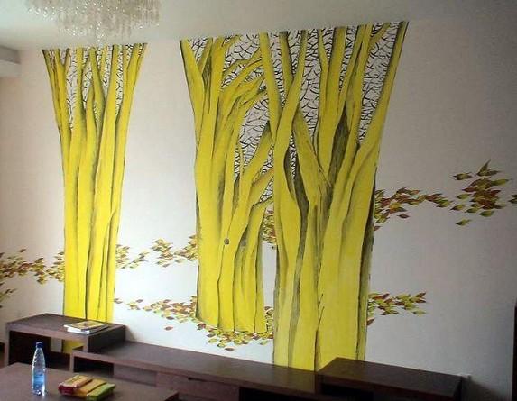 供应大连手绘墙|墙画
