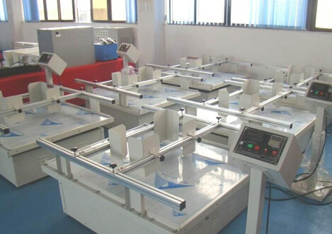 模拟运输振动台 箱体结构: ※ 数字仪表显示振动频率