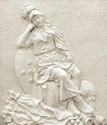 欧式风格砂岩浮雕