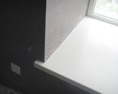 爵士白大理石窗台板,山水白大理石飘窗-大成石材