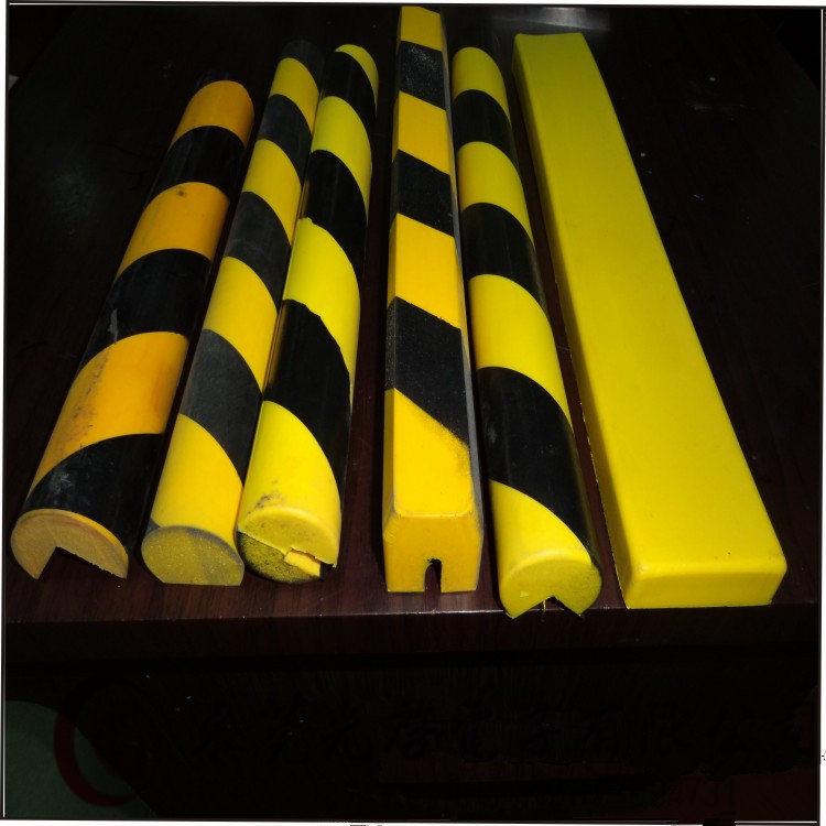 黄�y�!yk����:)�h�_惠州厂家黄黑警示 防撞条 防撞击pu 弹性体护具 pu防撞条