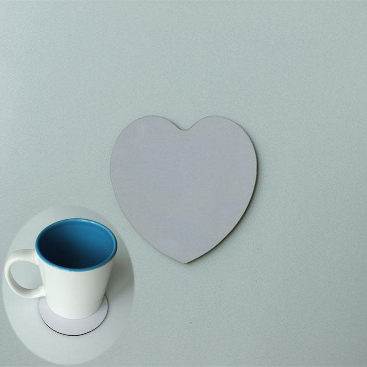 热转印空白耗材diy/mdf木质杯垫/可印图片 个性