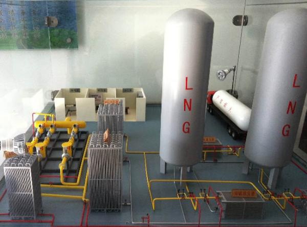 不锈钢建筑陶瓷窑炉天然气改造lng气化站(撬装)设计施工安装