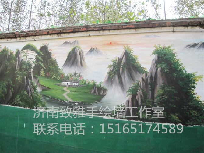 正规的户外墙体手绘首选致雅手绘