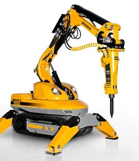 brokk拆除机器人 brokk拆除机器人,在不同行业又分别叫做:液压打渣机图片