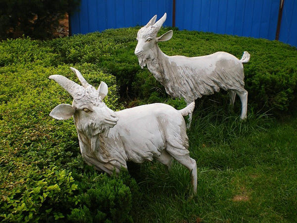 园林石雕 动物雕塑 山东宏鑫石业