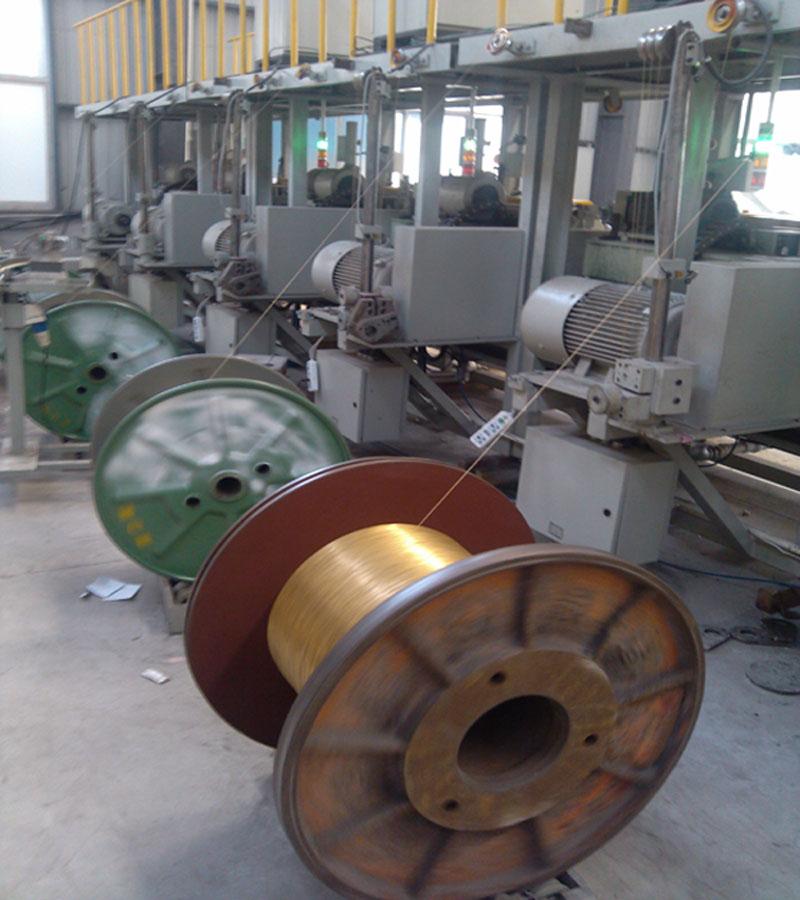 弹簧钢丝镀钢丝制刷细丝钢丝镀铜铜丝小v弹簧炉图片