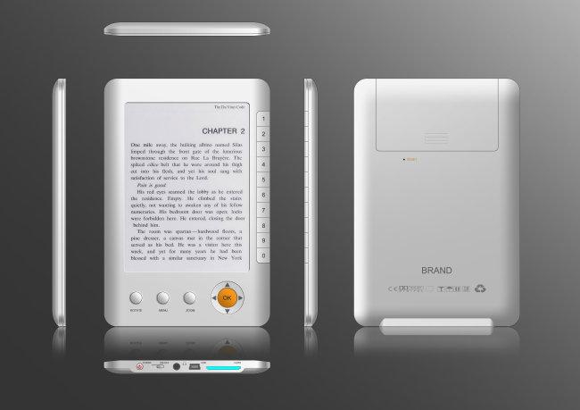 广州产品设计_电子书设计_朗威工业设计公司
