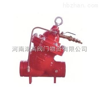 电磁阀是各种自动喷水灭火系统的专用配套阀门,可用来控制雨淋系统图片