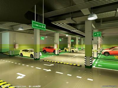 长寿黔江遂宁巫溪地下停车场划线地下车库车位划线