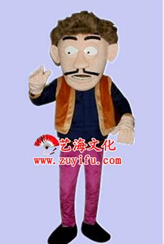 可爱藏族动画图片