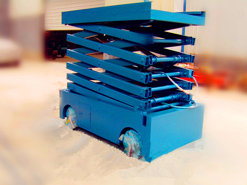 升降平台超载的安全装置,漏电保护装置和缺相保护装置,防止液压管路破图片