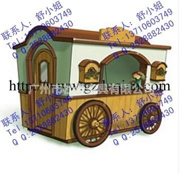 南宁木制零售花车该产品安装于风景名胜区,古建筑群区,仿古街区