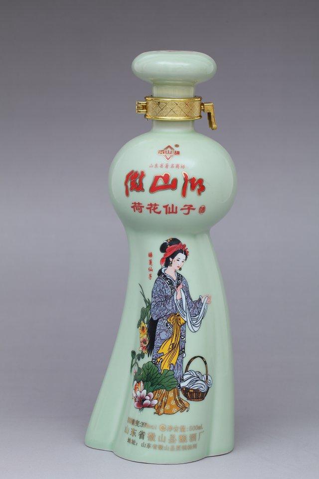 常见瓶子的手绘表现
