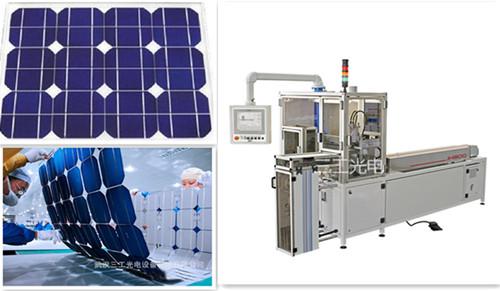 太阳能电池片串全自动焊接机