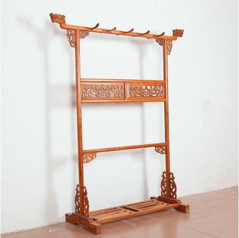 红木衣帽架|花梨木挂衣架|北京实木挂衣架|红木挂衣架