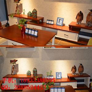 欧式电视柜荼几组合简约现代白色烤漆实木电视柜地柜荼几组合家