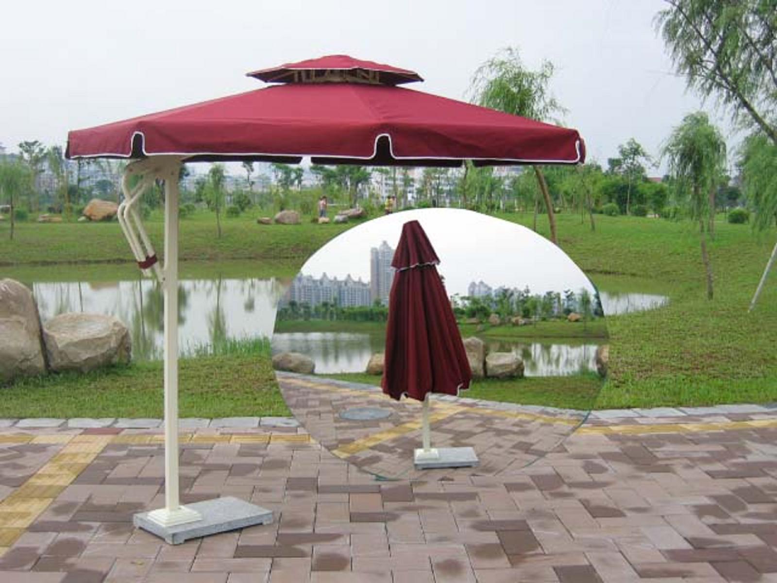 户外伞设计图