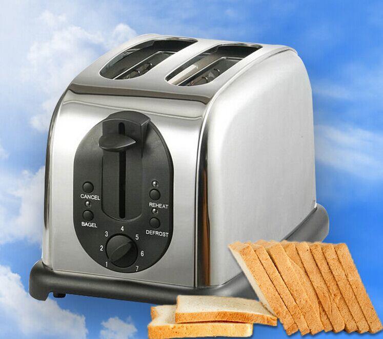 代洋不锈钢豪华二片多士炉/多士炉烤面包机/面包烤炉图片
