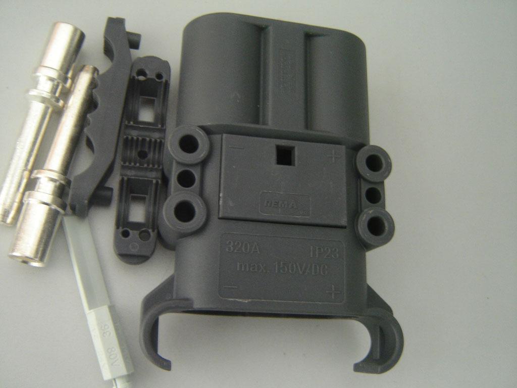 永恒力叉车充电插头 rema 320a 150v 电池插头