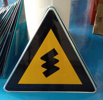 河南警示标牌价格,道路指示牌厂家,驾校标示牌