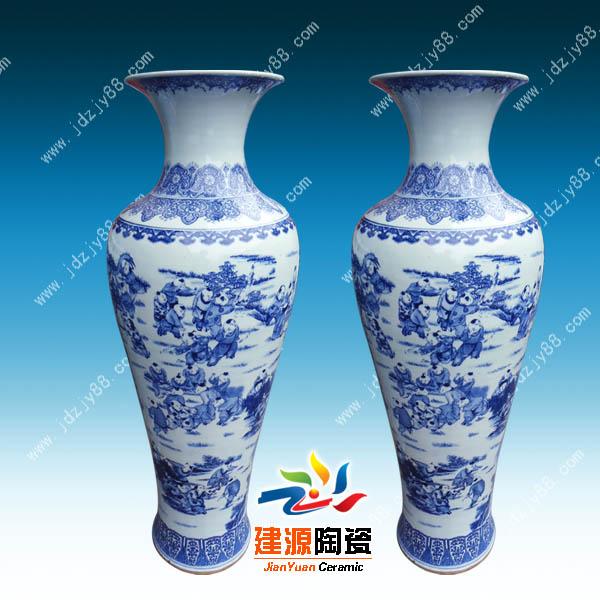 欧式陶瓷花瓶图片 陶瓷手绘大花瓶批发价格