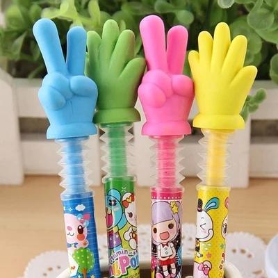 乖儿蕊创意文具 特价批发 手指手势造型圆珠笔小学生奖品礼品图片