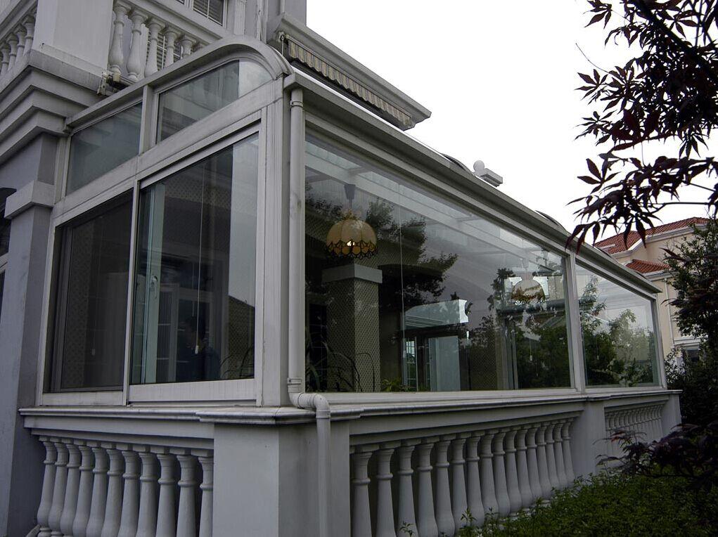 衡阳耒阳小区/别墅/楼顶阳光房安装与设计图片