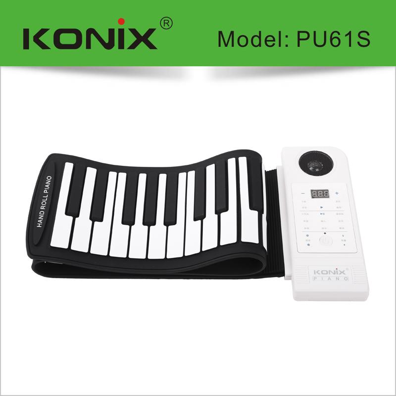专业61键手卷钢琴61键加厚软键盘电子琴