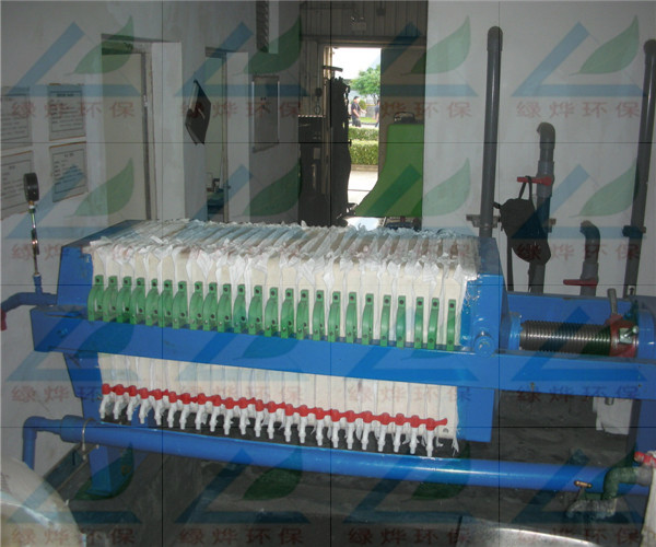板框厢式压滤机有390,520,870,1000,1250,1500六个系列,过滤面积