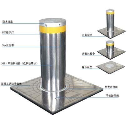 液压路桩结构图