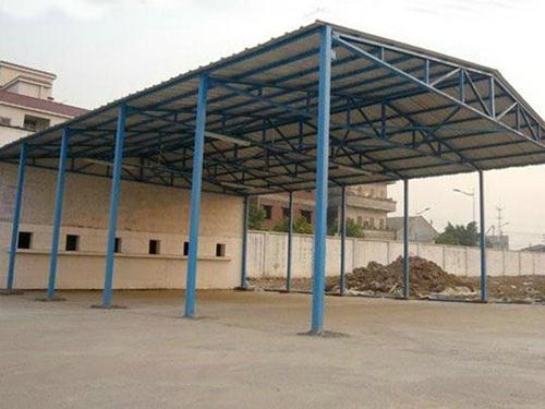 洪梅钢结构厂房,中赛钢结构工程,工业钢结构厂房