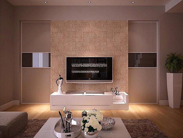 杭州装修沙发背景墙墙纸搭配技巧