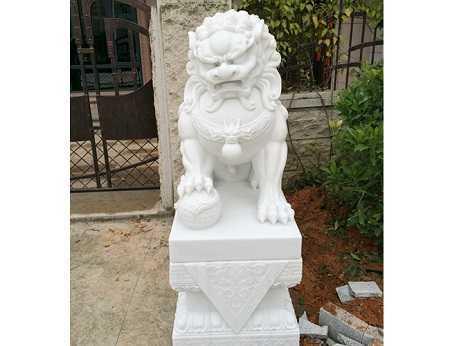 石雕动物工艺品