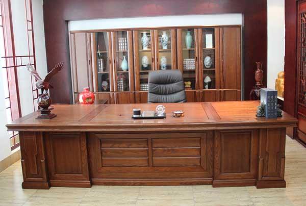 纯实木办公家具,中式实木办公家具,中堂实木班台