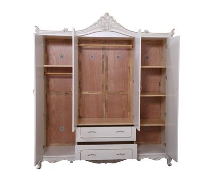 首页 家居分类 卧室家具 衣柜 > 欧式风格 欧式四门衣柜 实木四门衣柜