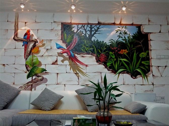 福州墙绘 福州壁画 福州手绘墙 福州sas墙绘工作室