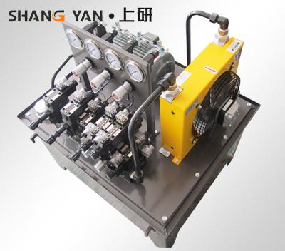 非标机床液压系统 液压站图片