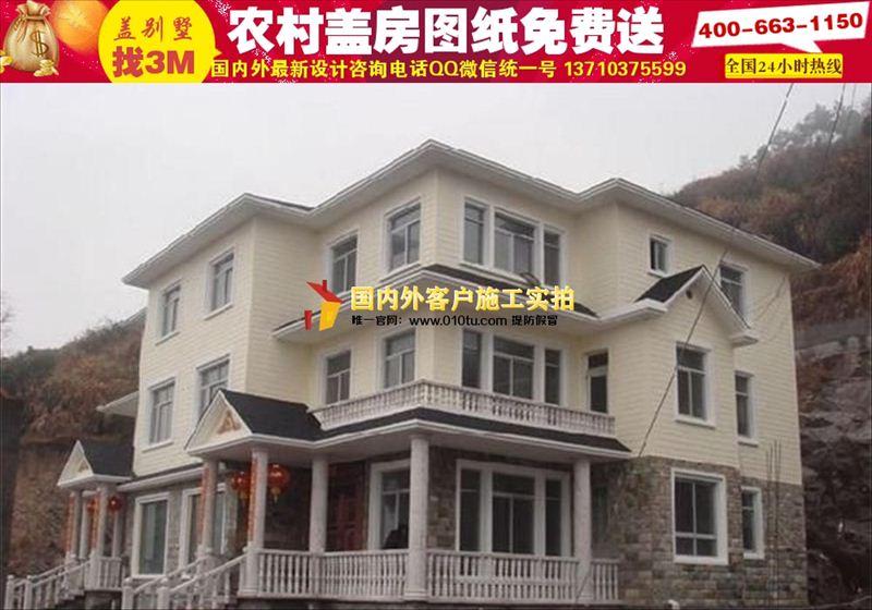 柳州农村房屋设计图农村小别墅设计图