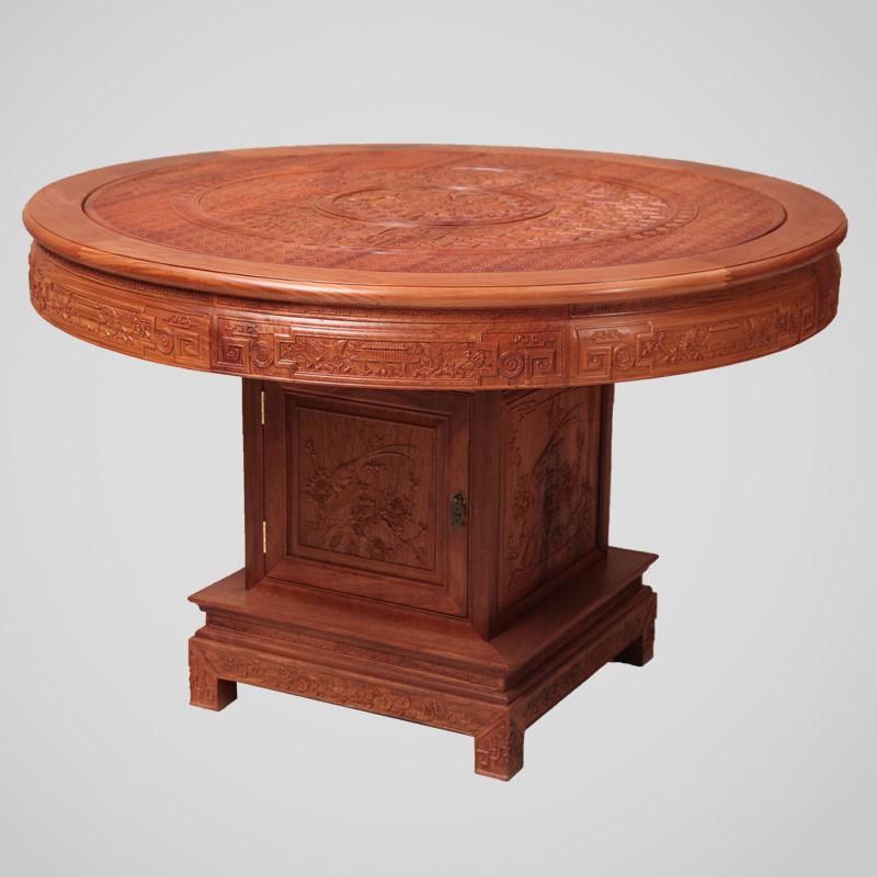 红木圆桌,红木厂家,红木圆台