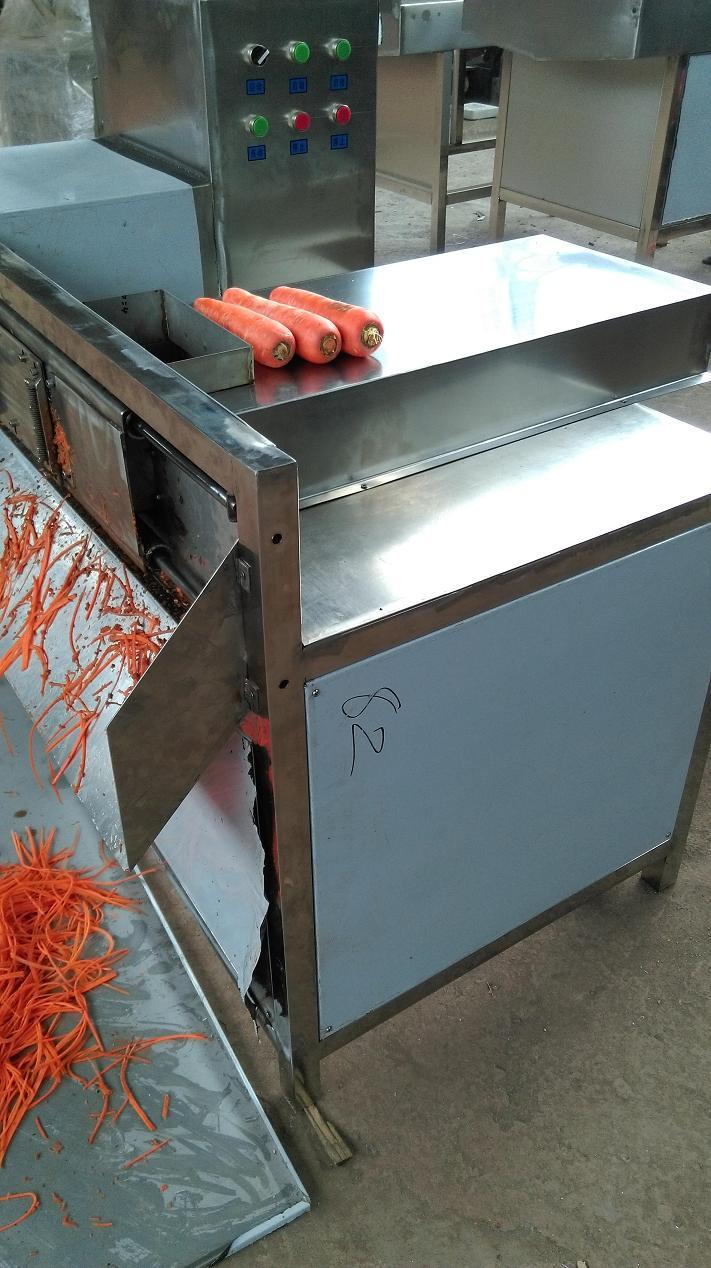 科隆机械提供超长胡萝卜切丝机