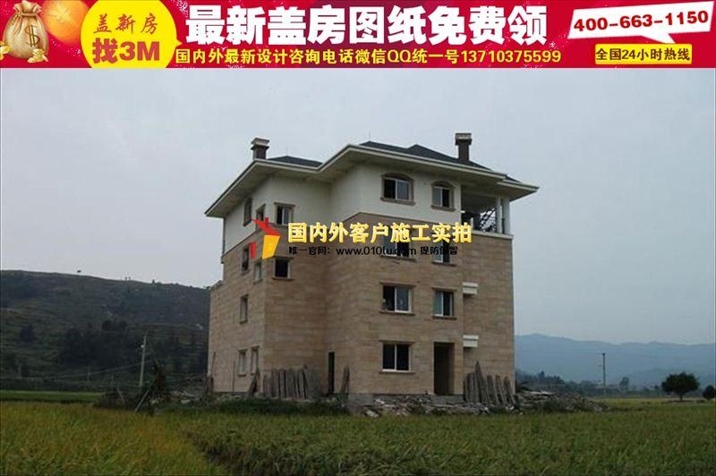西安100平农村平房设计图大全|经济型农村房屋设计